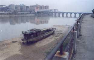 река в Фуджоу
