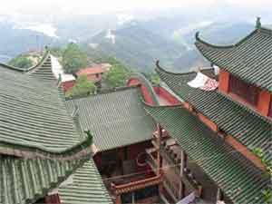 Пейзаж из монастыря