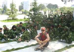 Военные сборы у первокурсников
