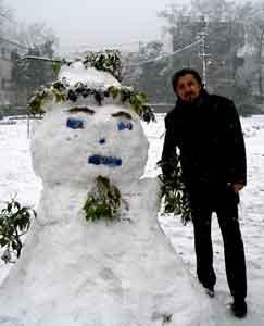наступила зима
