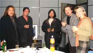 с китайскими коллегами